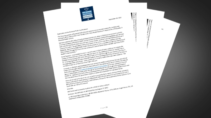 Letter from members of the BPS Parent and Community Coalition for COVID-19 Safety in School...