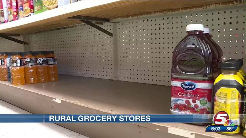 Rural grocery stores