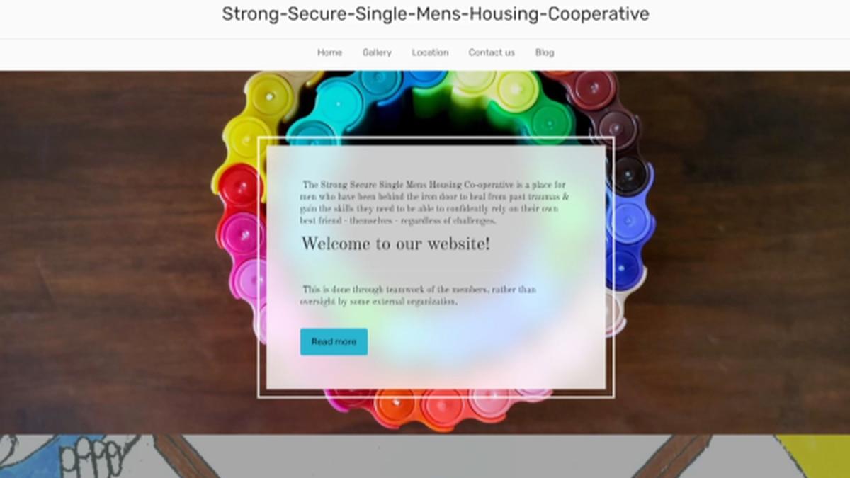 Men's housing co-op