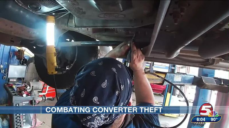 Local businesses team up to stop catalytic converter theft