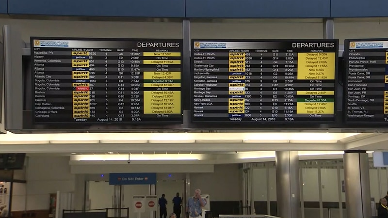Spirit Airlines canceled another 45% of schedule as problems hit fifth day