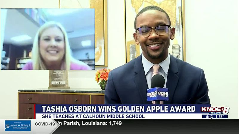Golden Apple Teacher of the Week