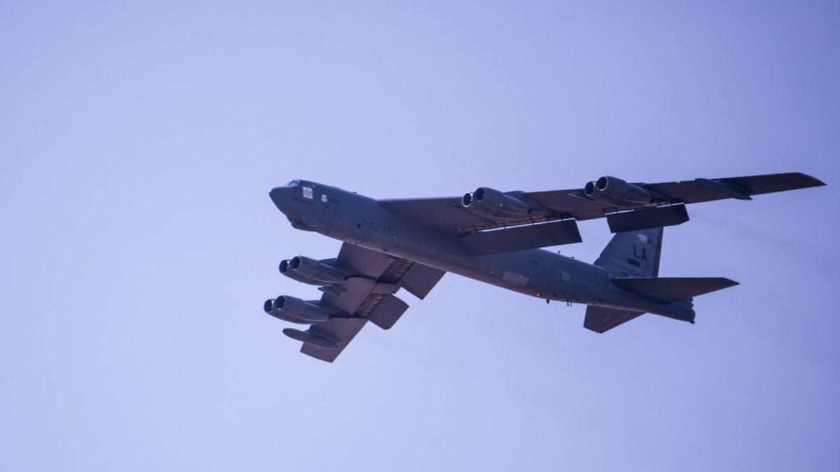 The Air Force relocated B-52 Stratofortress bombers stationed at Barksdale Air Force to Minot...
