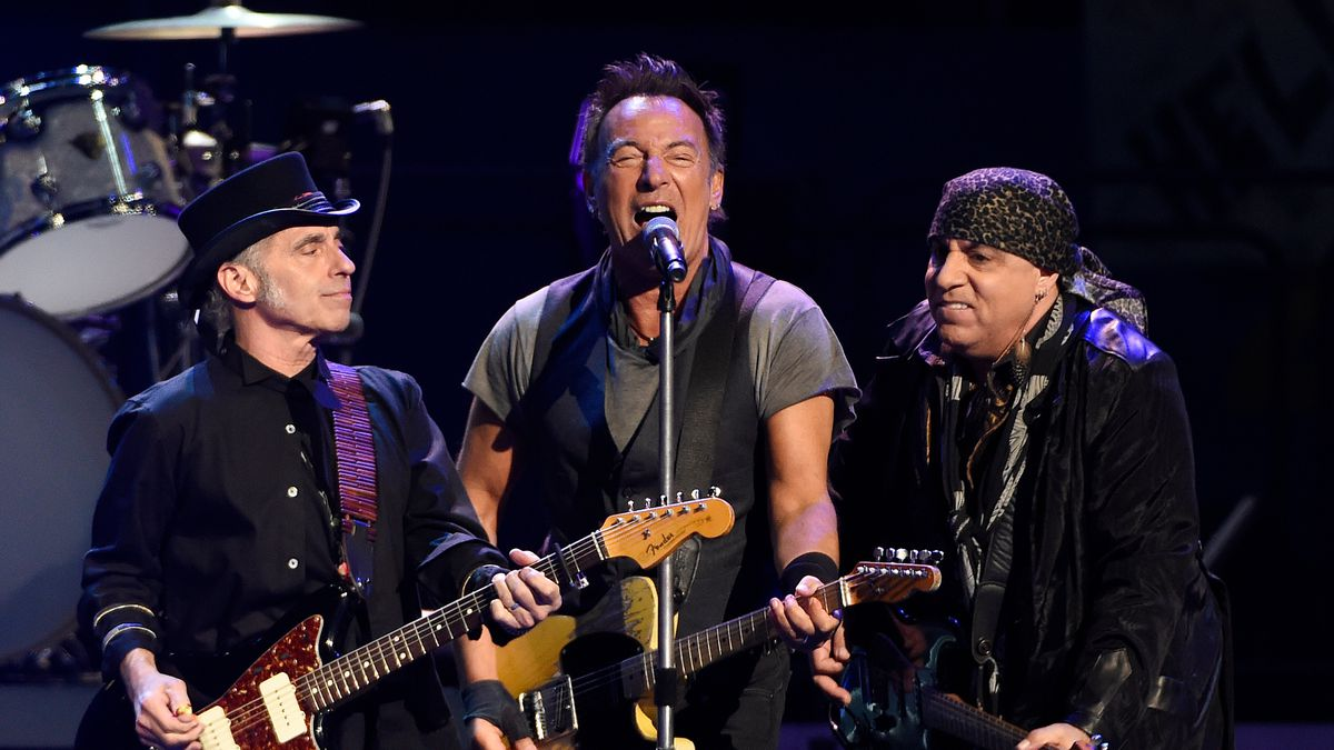 Bruce Springsteen and the E Street Band have a new album coming out in October called 'Letter To You.'
