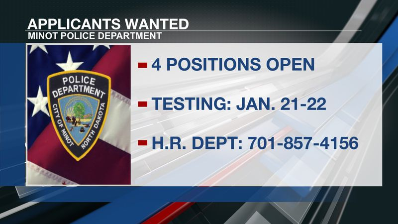 Minot PD applicants wanted
