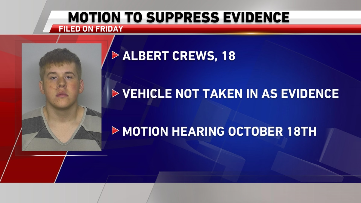 Motion to suppress evidence