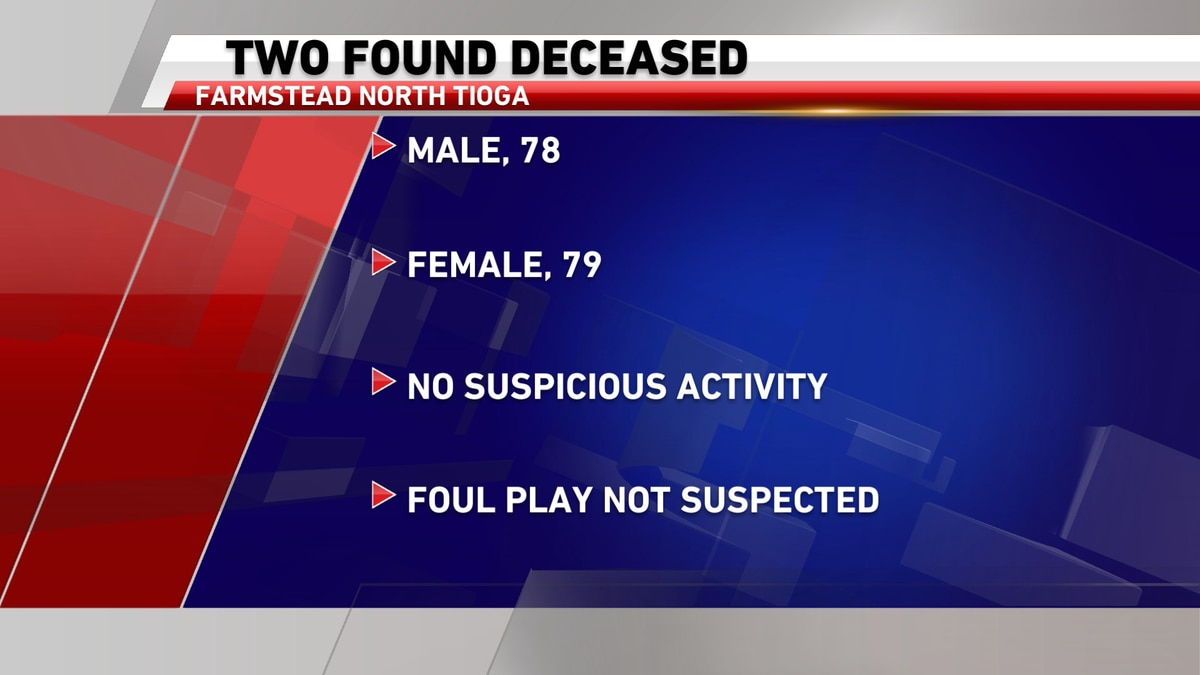Two found decease in Tioga