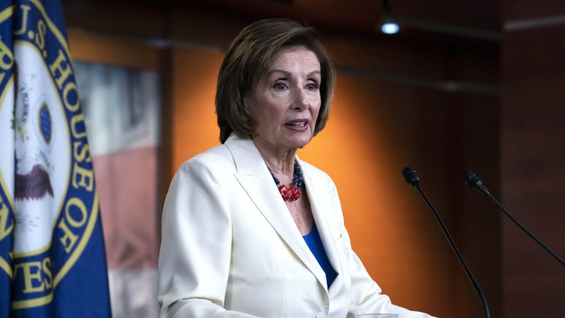 Speaker Nancy Pelosi says the House will move forward with investigations of the Jan. 6...