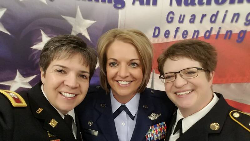 These military women not only achieved high honors but also keep a strong sense of humor.