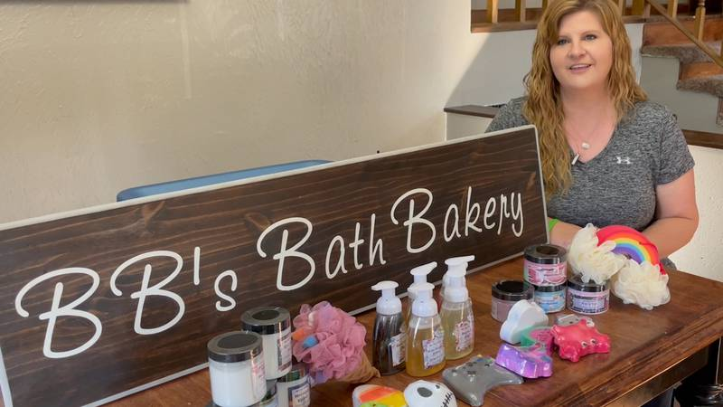 Becky Bjerklie started this business two years ago.