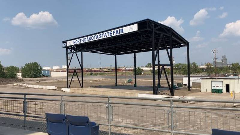 ND State Fair stage