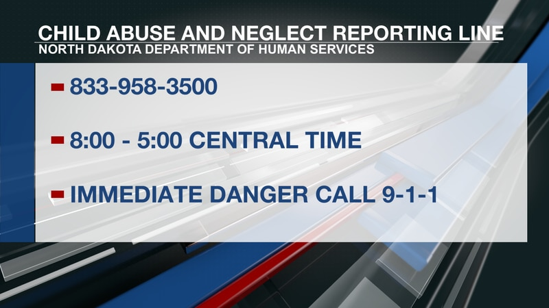 ND launches new statewide toll-free child abuse and neglect reporting line