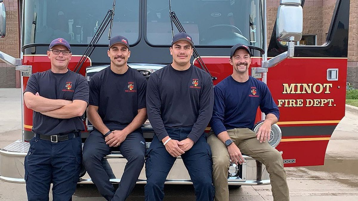 Minot firefighters head to Oregon to help battle wildfires.