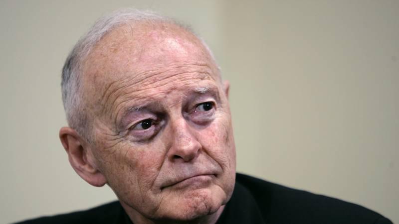 FILE -  In this May 16, 2006 file photo former Washington Archbishop, Cardinal Theodore...