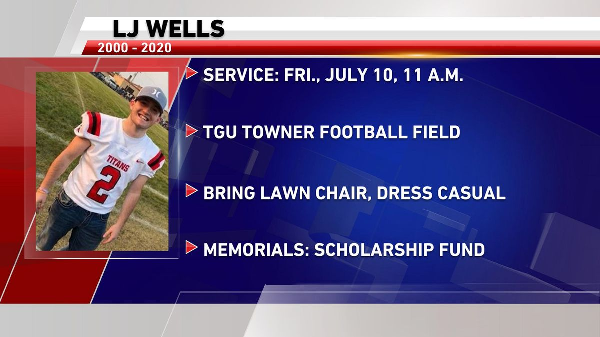 Communities to honor LJ Wells at service Friday