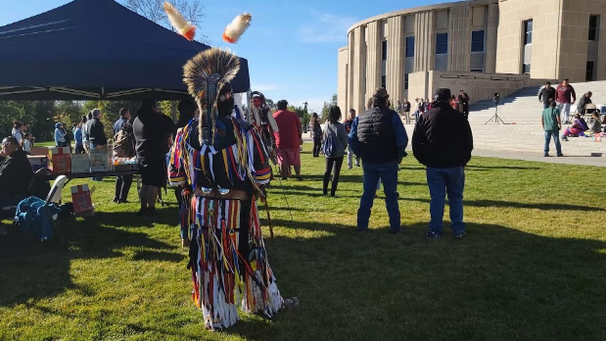 Inaugural First Nation's Day celebration in North Dakota.