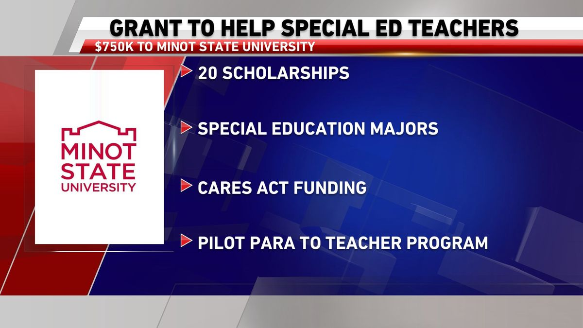 Government grant aids future special educators at Minot State