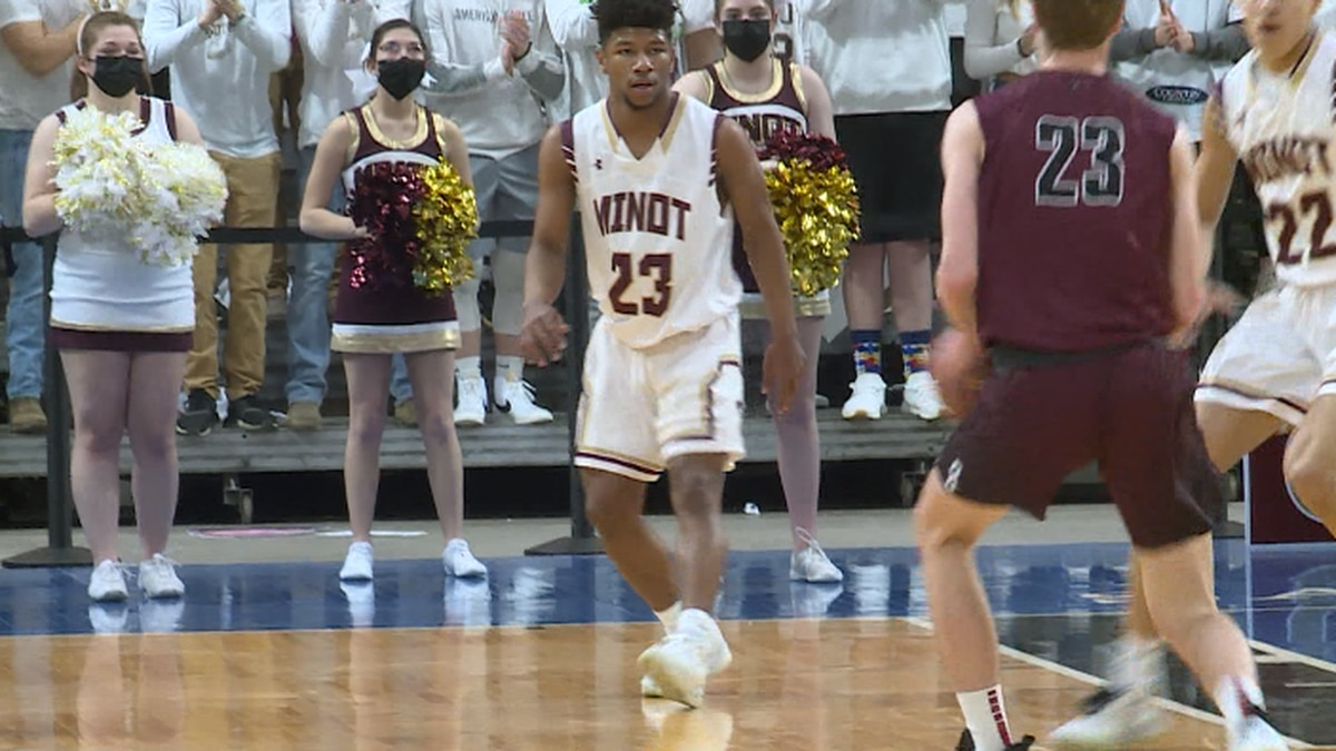Minot High boys basketball defeated Bismarck High 89-88 Saturday for the west region...