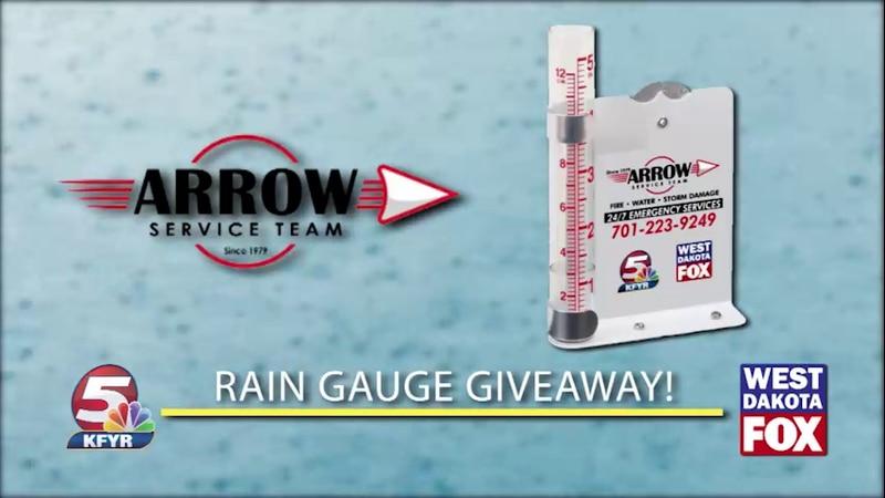 Arrow Service Team Rain Gauge