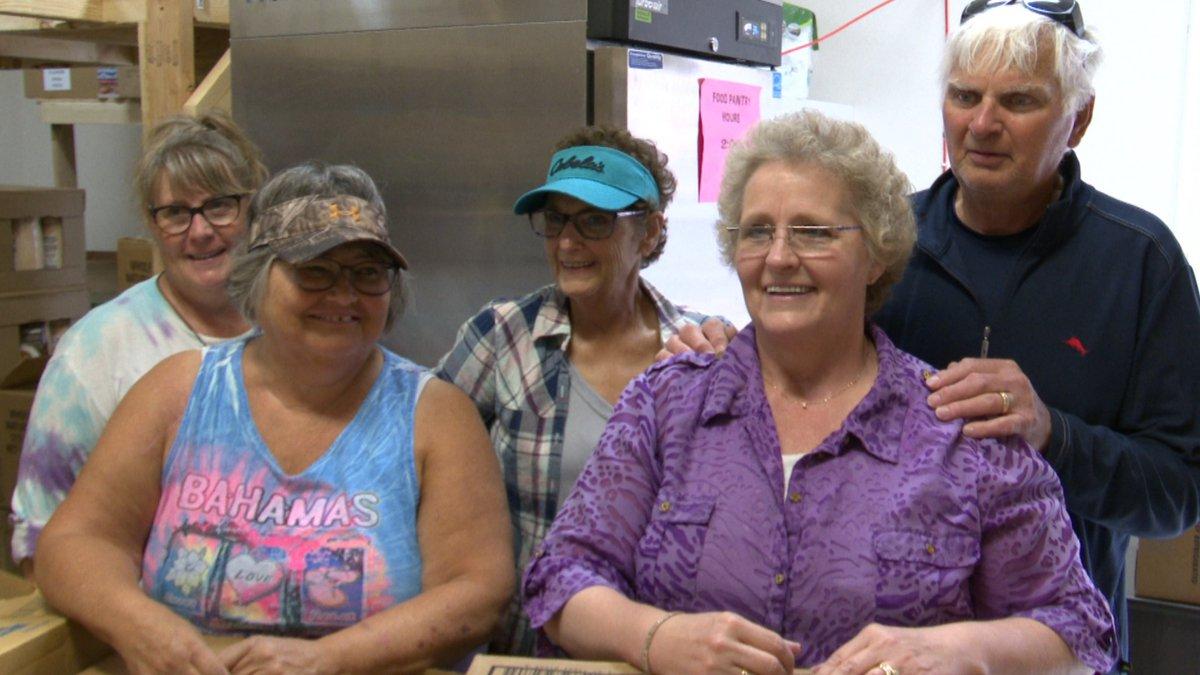 McHenry County Food Pantry volunteers