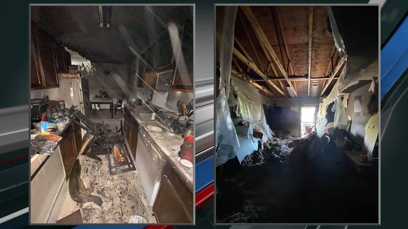 Apartment Fire Damage