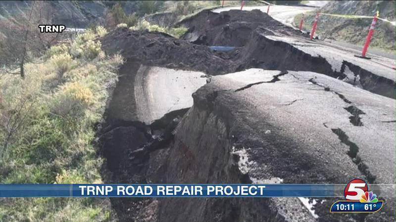 road repair TRNP