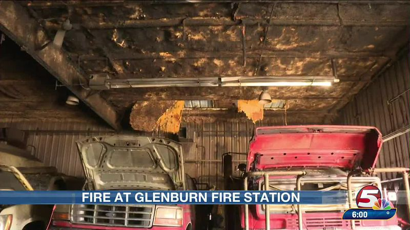 Fire at Glenburn Fire Hall