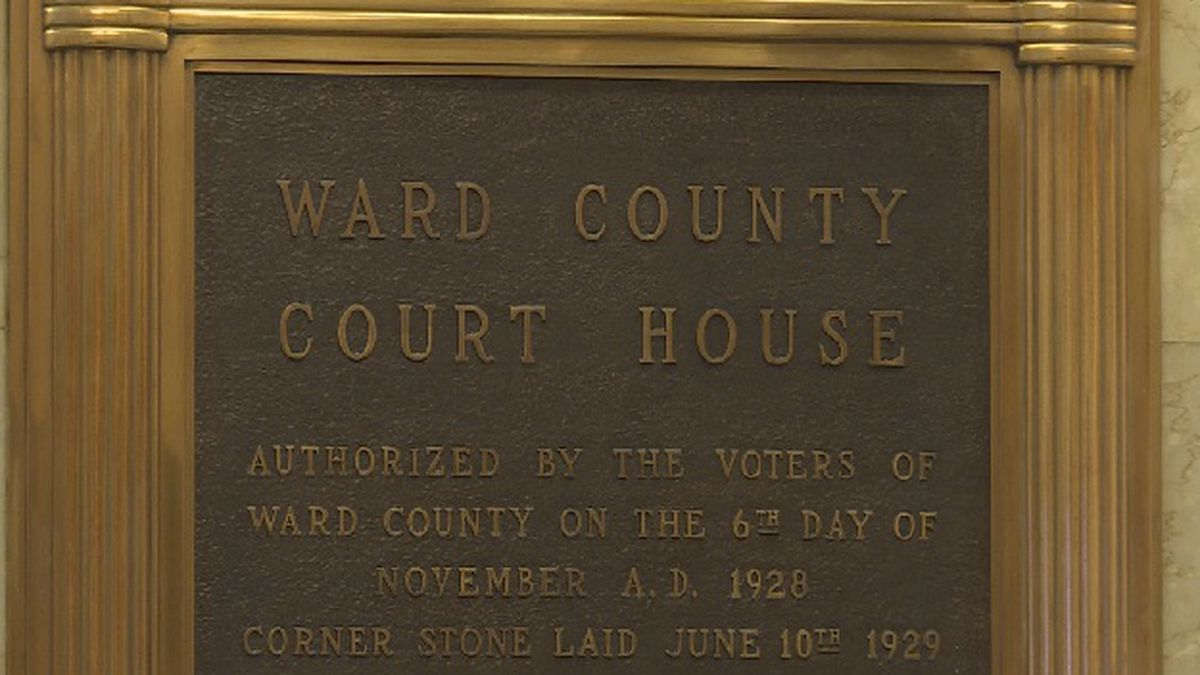 Ward County jury trials pushed back through Aug. 21 following positive COVID test