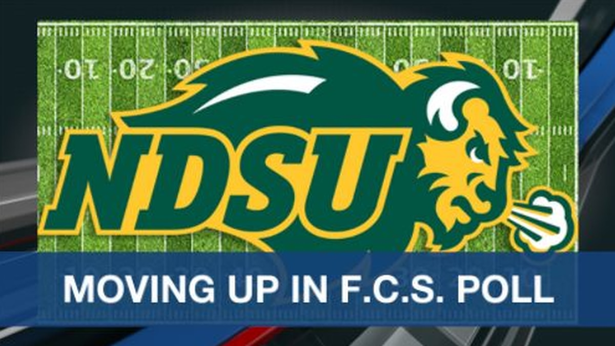 NDSU moving up in coaches poll