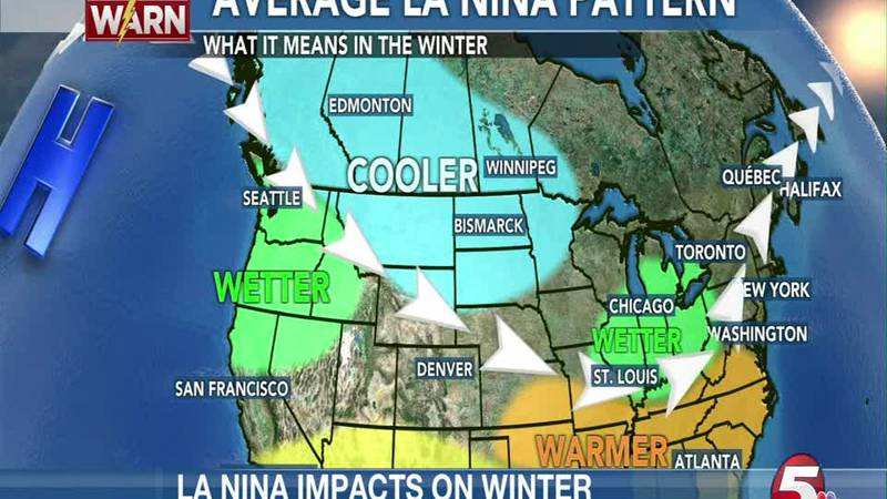 LA NINA IMPACTS WINTER