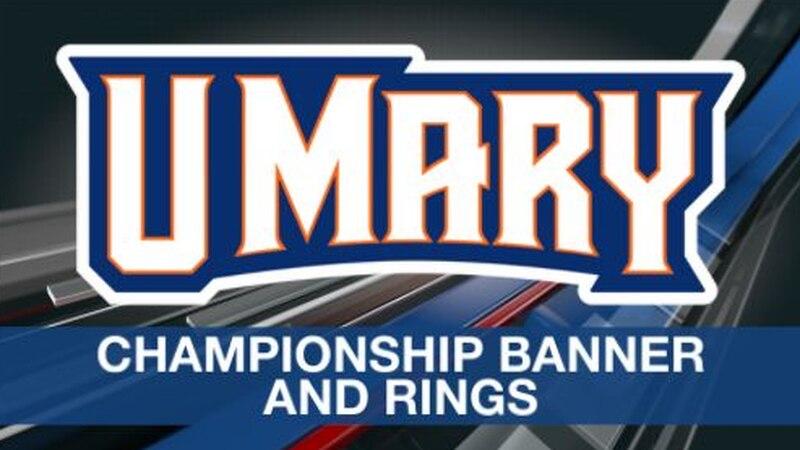 UMary championship banner