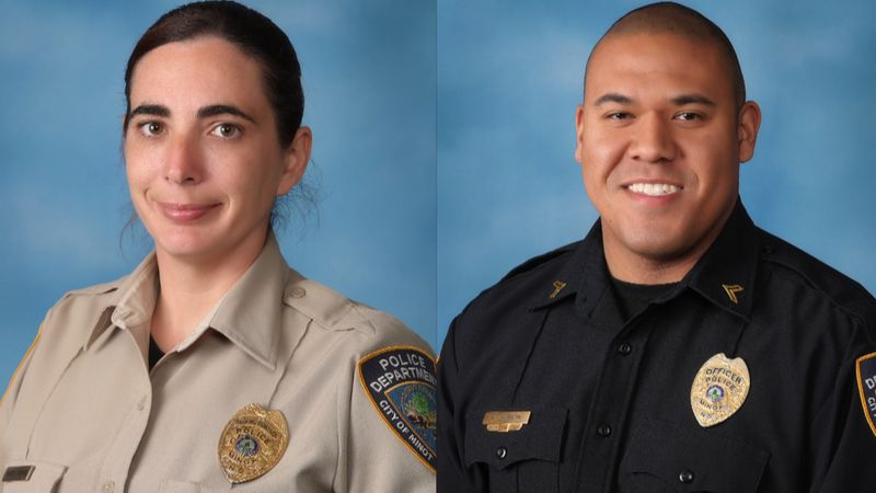 Minot Police announce 2020 employee, officer of the year