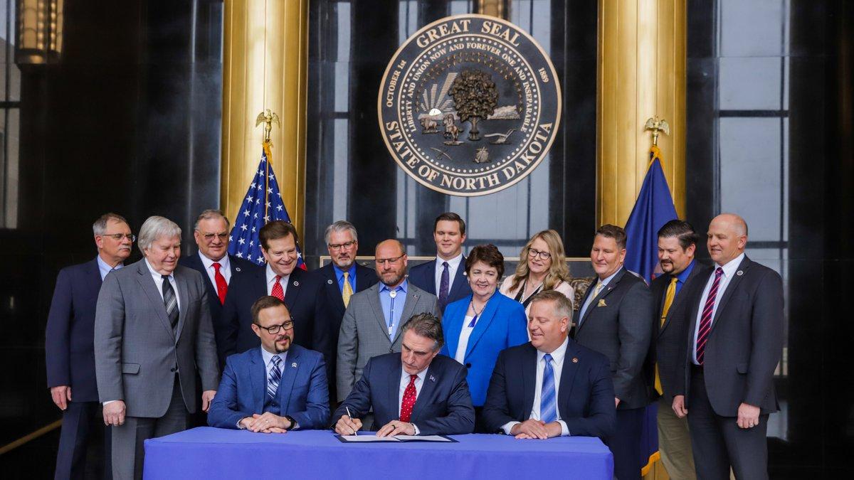 Burgum designates North Dakota as a Second Amendment Sanctuary State.