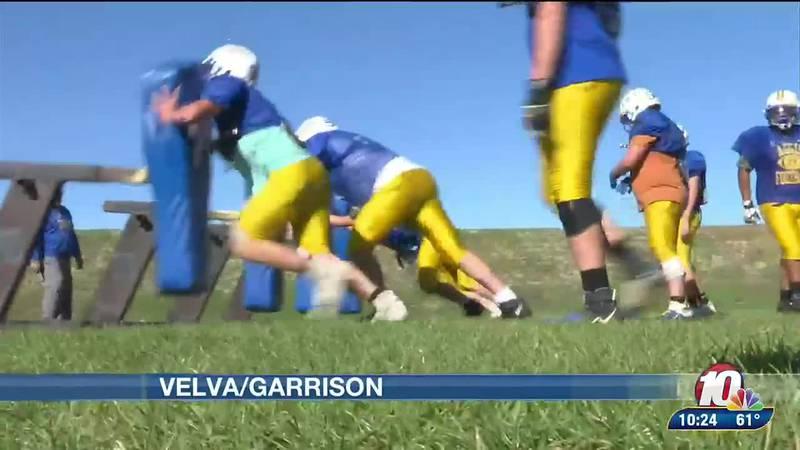 Velva/garrison football