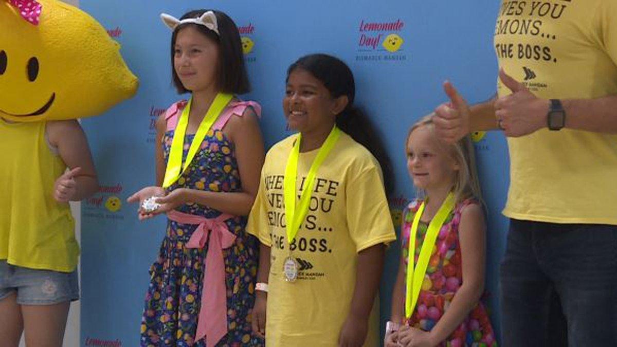 5th Lemonade Day Best Tasting Contest.