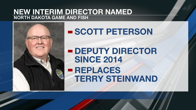 Scott Peterson, the deputy director of North Dakota Game and Fish, has been appointed to serve...