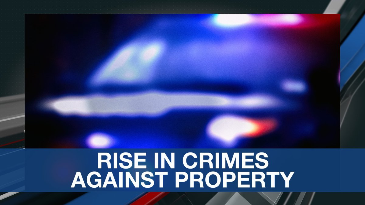 Rise in Crimes Against Property