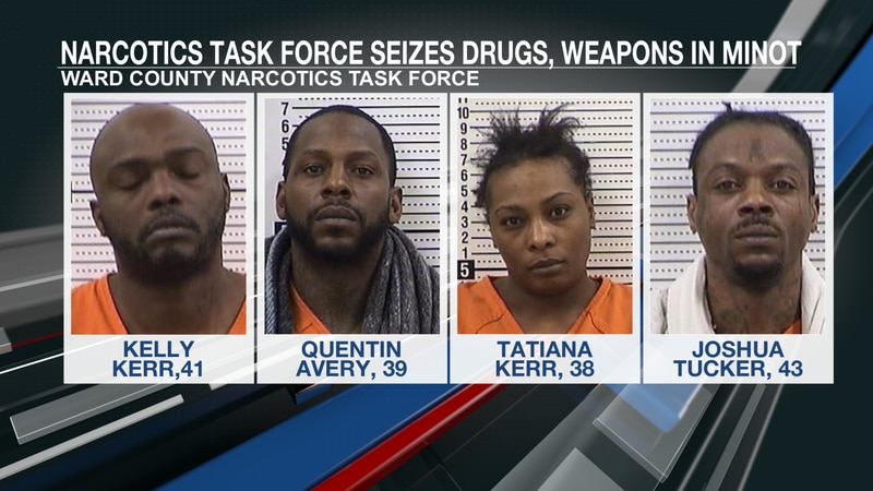 Narcotics Task Force seizes drugs, weapons in Minot