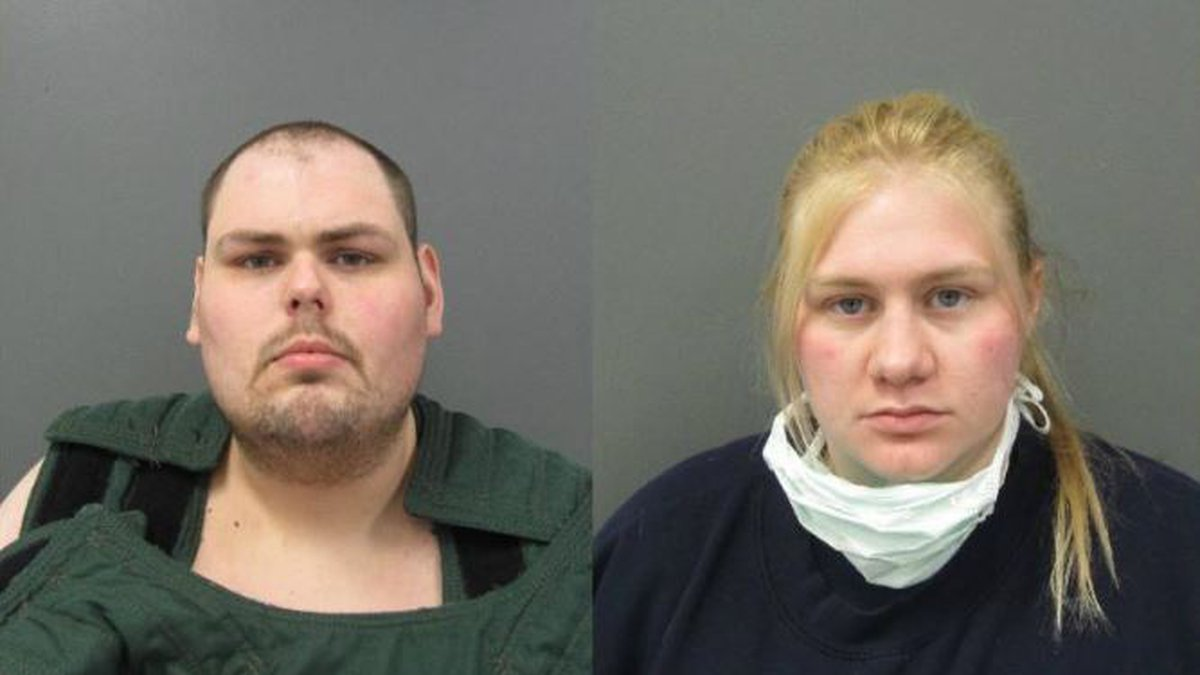 Ethan Broad (left) is facing charges in connection to the murder of Dystynee Avery. Andrea...