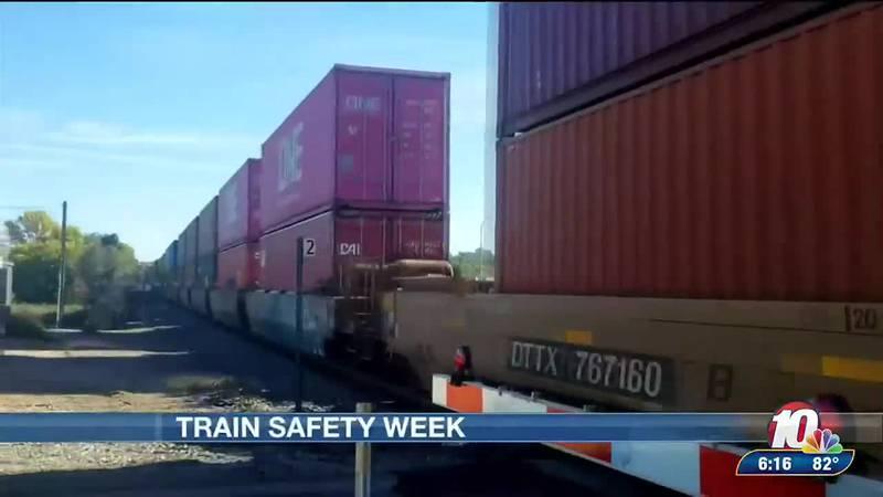 Train safety week