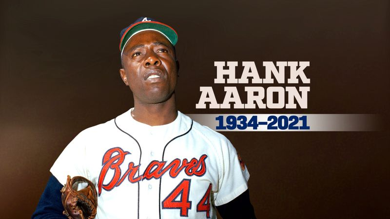 Baseball lost a legend Friday with the passing of Hank Aaron at age 86.