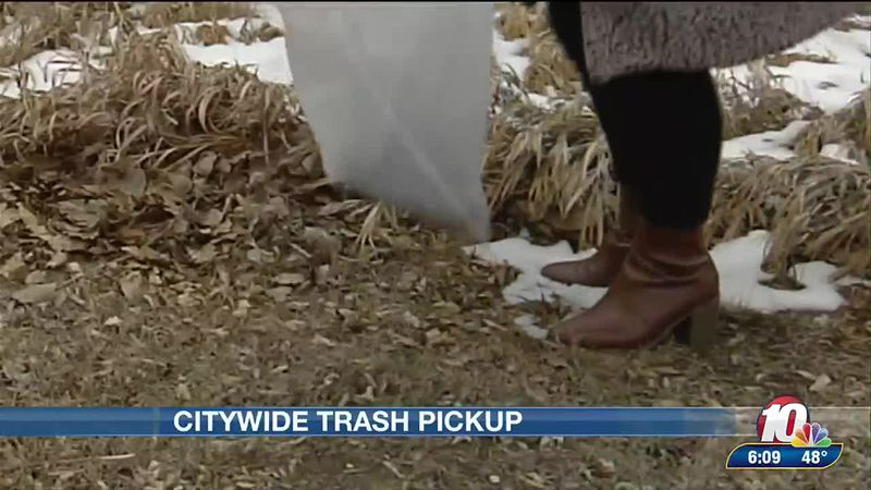 Citywide trash clean up