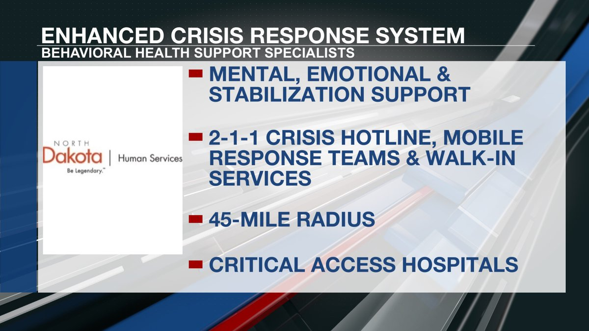 Enhanced crisis response services