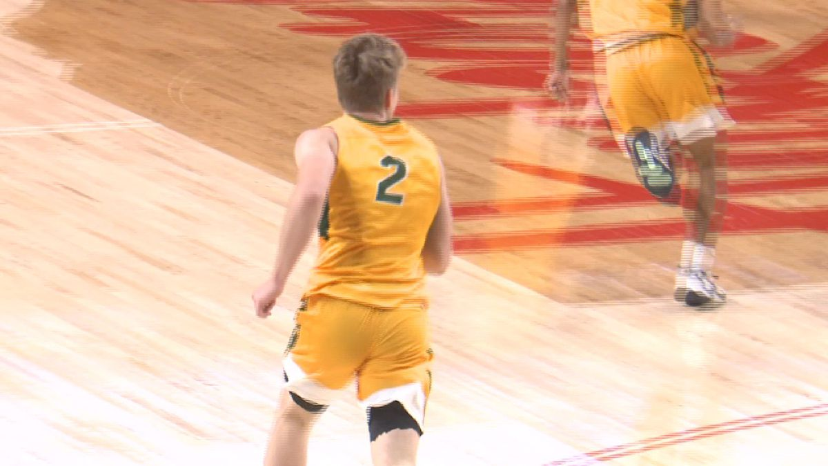NDSU junior Jaxon Knotex.