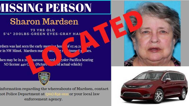 Sharon Mardsen found