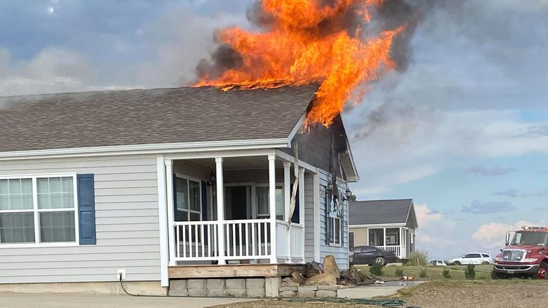 Community helps family displaced by fire