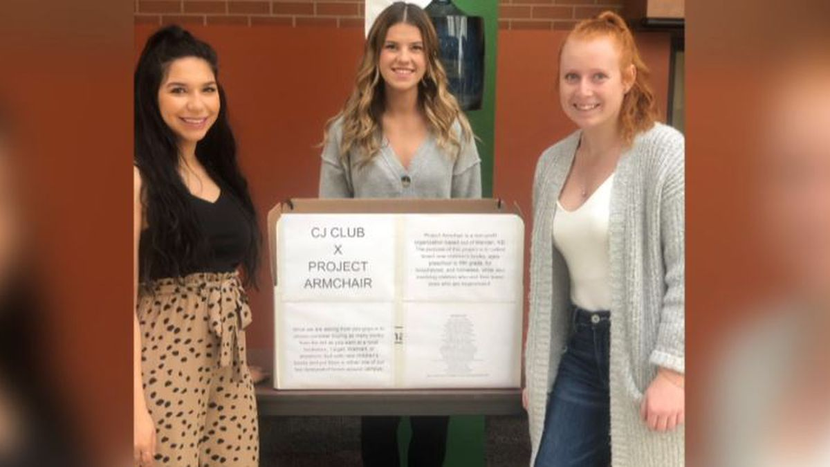 The Minot State University Criminal Justice Club is taking part in the project, setting up...