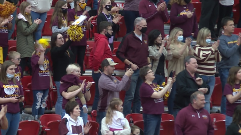 Grafton defeated Central Cass 64-50 Saturday at the Minot State University Dome to win the...