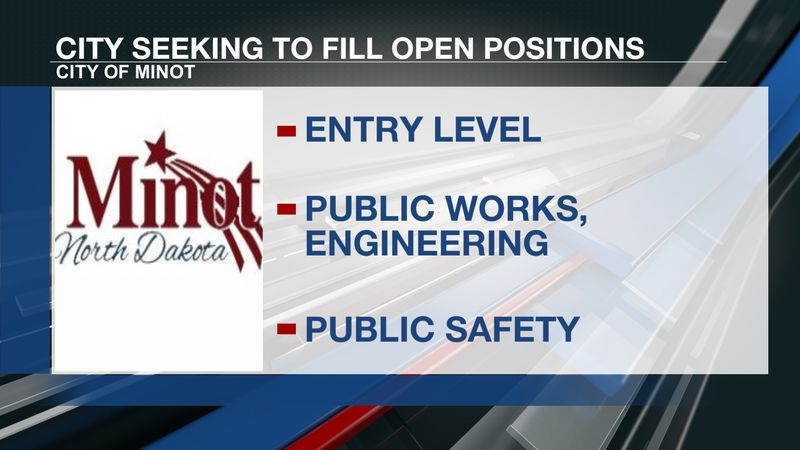 City of Minot looking to fill various positions