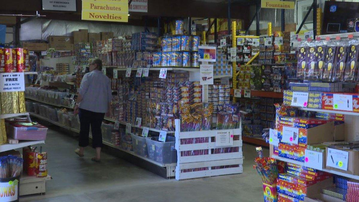 Fireworks store